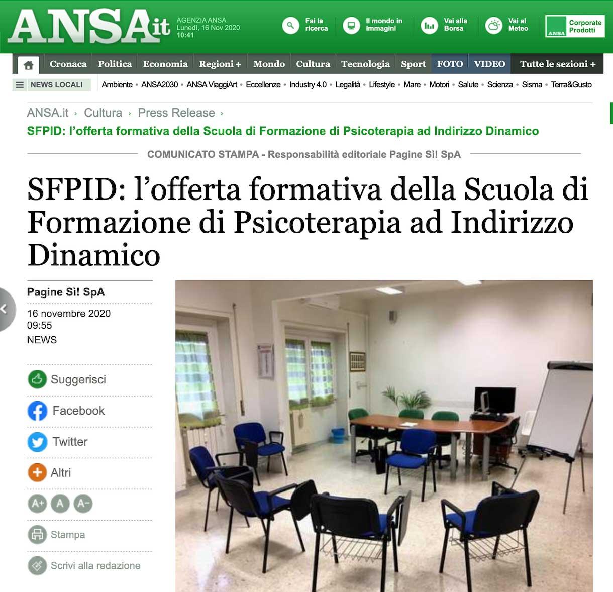 Intervista a SFPID: l'offerta formativa